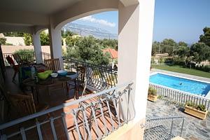 Ground Floor Balcony open to those Amazing Views