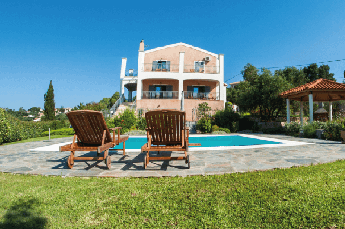 Villa with Pool in Kefalonia