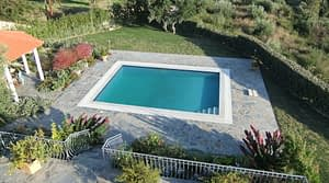 24 Garden & Swimming pool as seen from main Bedroom Balcony